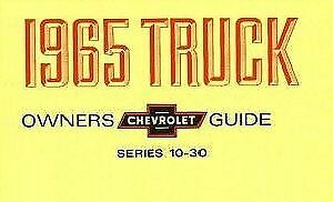 1950 CHEVROLET  TRUCK OWNERS MANUAL FOR GLOVE BOX