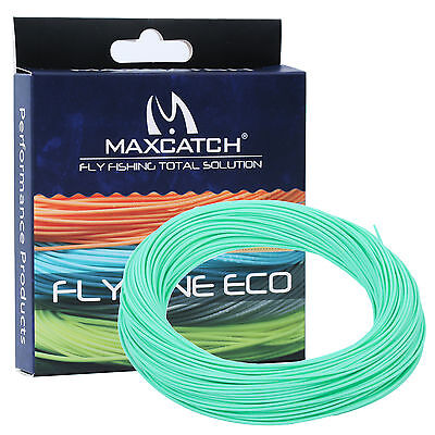 WF2/3/4/5/6/7/8 Floating Fly Line Trout Teal Blue Fly Fishing Line