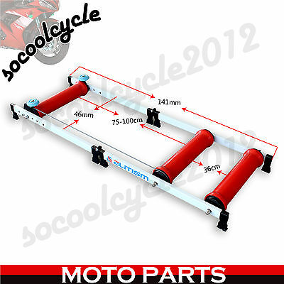 New Bicycle Support Stand Training Exercise Cycling Home Indoor Trainer Rollers