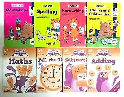 Help With Homework Easy Learning Pack of 6 Workbooks Ages 5+ Year KS1 Year 1 New