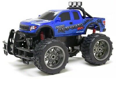 New Bright Big Scale 1:10 Remote Control Ford F150 Truck Full Function RC Q4AF#