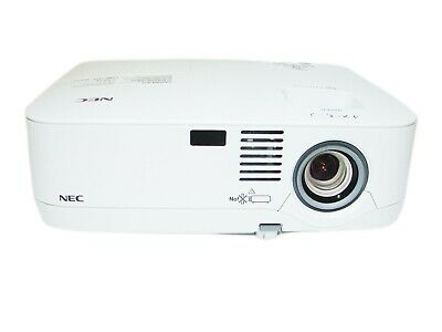 NEC NP500 - LCD Projector 3000 ANSI HD HDMI w/Adapter 1080i Remote TeKswamp