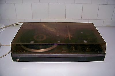 Antiguo Tocadiscos  Philips Stereo Modelo Af 400