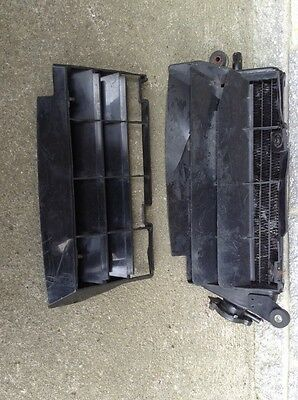 Yamaha DT125 R. DTR125  Radiator + Guard Cover . (ref 7)