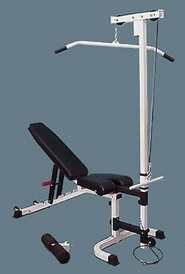 TDS C-5950-LA Lat/Row Attachment  (Bench not Included)