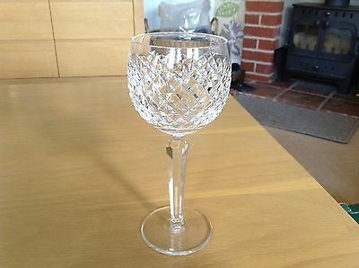 Stunning Waterford Crystal Alana Hock Wine Glass