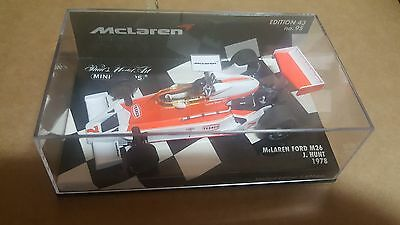 MINICHAMPS James Hunt McLaren Ford M26 1978 1-43 scale model