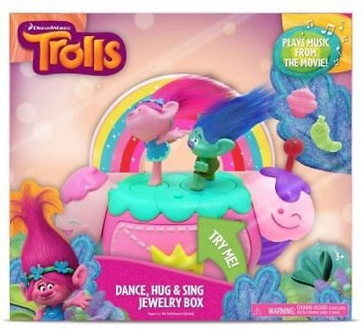 Trolls Dance/Hug and Sing Jewellery Box - FREE DELIVERY