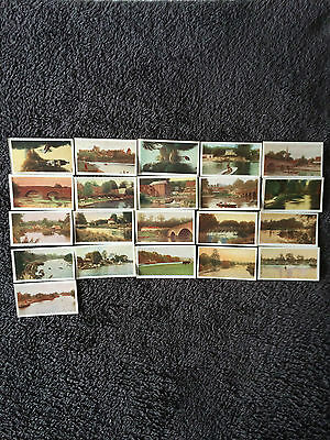 R J Hills The River Thames ( 26-50 ) 21 Cards From Set Of 25 - Very Good Cards