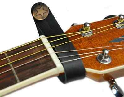 Acoustic Guitar Strap Button Holder - Leather Strap Hook for Acoustic Guitar.