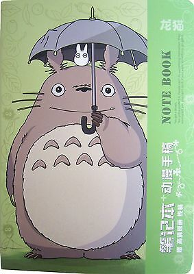 My Neighbour Totoro Notebook Catbus Anime Studio Ghibli B5 Notepad Diary Journal