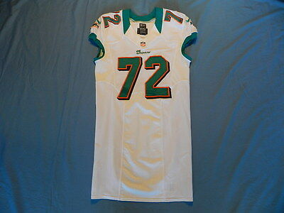 Will Yeatman 2012 Miami Dolphins non game used jersey