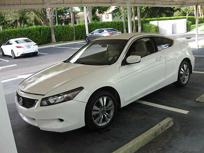 2009 Honda Accord 2dr I4 Automatic LX-S 60000 MILES AUTOMATIC COUPE WHITE ON TAN FLORIDA EX EX-L SPORT FLORIDA CAR WOW