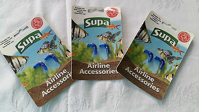 3 Packets of 6mm Supa Airline Accessories ~ 2x Airline Elbow ~ 2781