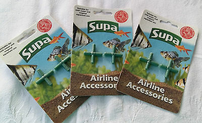 3 Packets of 6mm Supa Airline Accessories ~ 2x Airline Cross ~ 2811