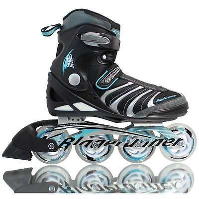Bladerunner Formula 82 Women's Black/Blue Inline Skates *Various Sizes*