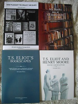 The City of London Quartet  of T.S.Eliot Books - special  offer