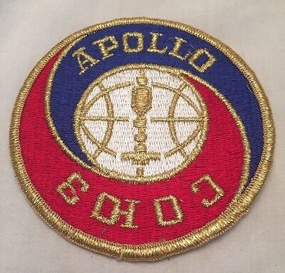 Vintage Apollo Co 10 3 Sew On Patch Brand New