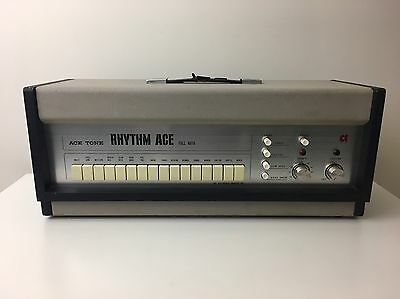 1960's Ace Tone Rhythm Ace FR-1 Analog Drum Machine - Moby Tr808 Tr909