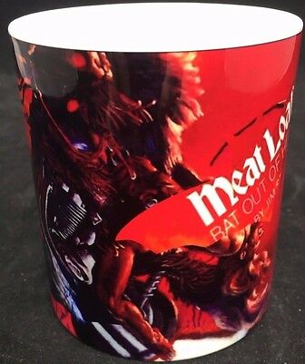 Meat Loaf Bat Out Of Hell Unique Coffee Mug Memorabilia