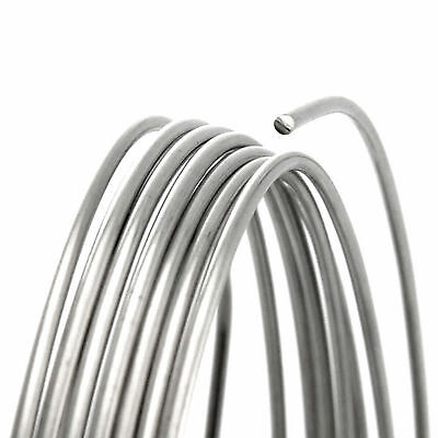 Sterling Silver Wire Round 925 Silver Wire 1 mm wire for making jewellery