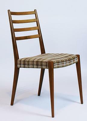 Vintage 1950' Austrian Mid Century Modern Chair By Wiesner Hager/ 4 Avaiilable