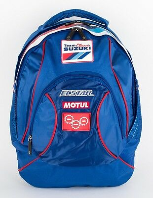 Genuine Suzuki Classic Team Logos Mens Womens Compartments Backpack Rucksack