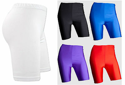 Ladies Womens Gymnastic Shorts Compression Base Layer Sports Dance Shorts PE