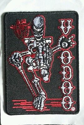 Genuine 'Voodoo' cues snooker pool skeleton 8-ball  embroidered patch NEW