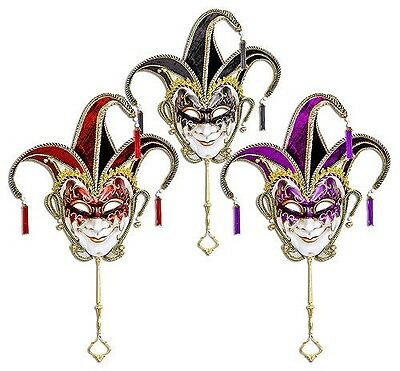 Jester Wall Art Face Masks (RED,BLACK or PURPLE)