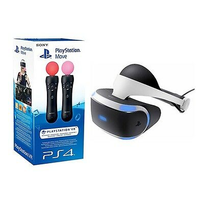 Sony PlayStation VR with Two Move Controllers