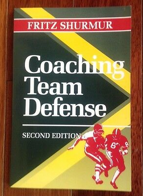 Coaching Team Defense 2nd Edition Fritz Shurmur Rare Like New