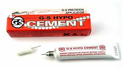 Adhesive, G-S Hypo cement with Applicator