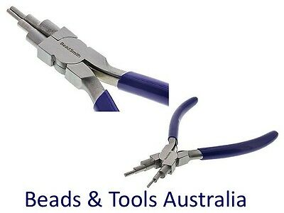 6-in-1 Looping Pliers - 6 Step Bail Making Pliers for bails & looping wire work