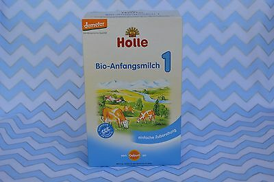 Holle Organic Stage 1 Infant Baby Formula (4 Boxes)  Free PRIORITY Shipping