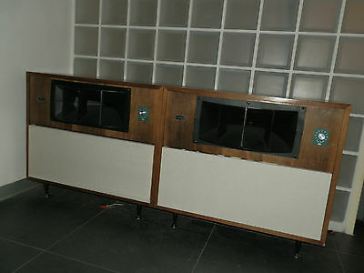 Altec Lansing 9844A Monitor Speakers New made Cabinets , Original Alnico V units