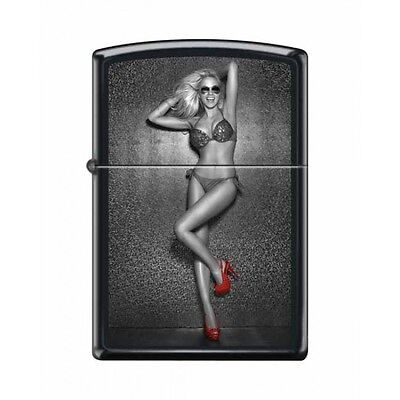 Zippo Very Rare Red Shoe Girl Series Iv #20 New