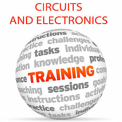 CIRCUITS and ELECTRONICS - Video Training Tutorial Course DVD