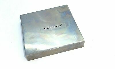Steel square Anvil block for forming small jewellery items from