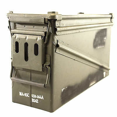 Ammo Can Military Surplus Metal M385A1 PA120 17in x 10in – Grade 2