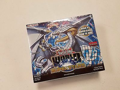 [ NEW & SEALED ] Yu-Gi-Oh World Superstars Booster Box (24 packs) - 1st Edition