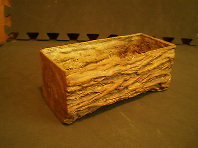 vintage flower vase,log appearance