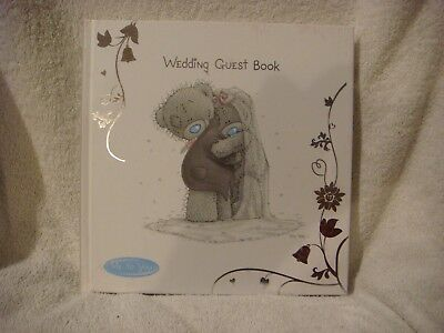 Personalised Me To You Tatty Teddy Wedding Guest Book Gift New G01Q6588-P