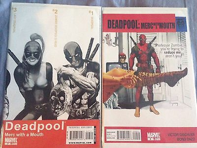 Merc With A Mouth 7 + 9 First Appearance Lady Deadpool (Mar. 2010) Marvel Comic