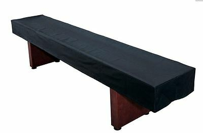 Hathaway Black Cover for 12 ft. Foot Shuffleboard Table Protect Your Investment