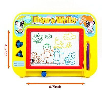 Magnetic Drawing Board by Kidolino - Drawing Board for Kids with 2 Stamps and 1