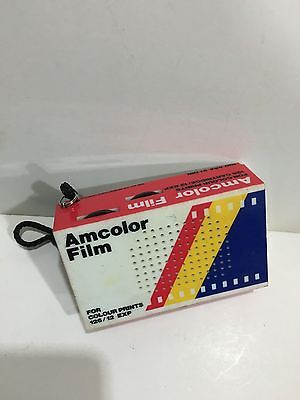 VINTAGE  NOVELTY AM COLOR FILM RADIO AM(MW)- BAND FROM THE 1970s-