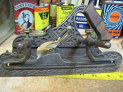 ANTIQUE MILLER'S PATENT No 41 PLOW PLANE STANLEY TOOLS