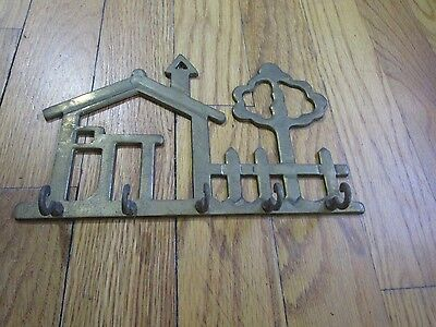 Wall Hook - House And Tree - Brass - Price Products - Wall Decor - Hanger
