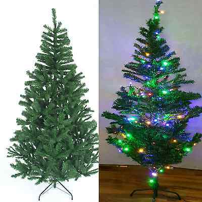 2,3,4,5,6 &7Ft TRADITIONAL GREEN CHRISTMAS DECORATION ARTIFICIAL TREE PINE TIPS